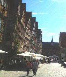 Altstadt von Ochsenfurt - Blick Richtung neues Rathaus